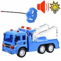 Игрушка машинка эвакуатор на пульте управления, Same Toy CITY Полицейский эвакуатор 1631Ut