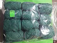 Нитки для вязания зеленые
