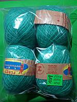 Нитки для вязания голубые