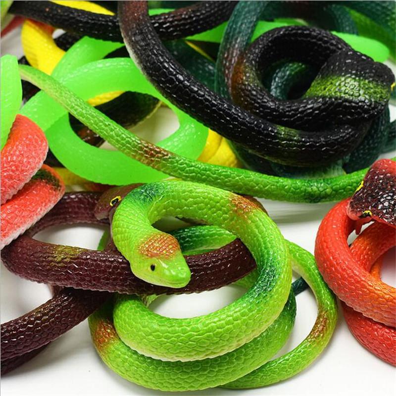 Резиновая Змея-тянучка   Игрушка-антистресс для детей и взрослых