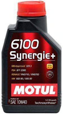 Моторне масло Motul 6100 Synergie+ 10W40 (1л)