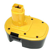 Аккумулятор для шуруповерт DeWalt DC9091 1.3Ah 14.4V желтый 1300 mAh, , 14,4 V