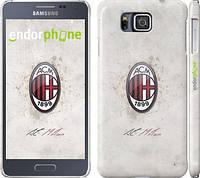 "Чехол на Samsung Galaxy Alpha G850F Милан 1 ""315c-65"""