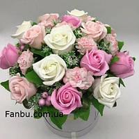 """Ароматный букет,розы из мыла """"Мыльный сюжет""""15"""
