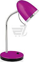 Настольная лампа офисная Camelion C12 6408621 1x40 Вт E27 фиолетовый KD-308