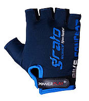 Велоперчатки PowerPlay S Синие (5029E_S_Navy_Blue)