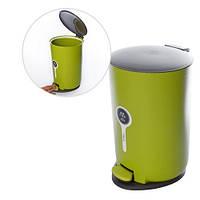 Ведро для мусора Stenson 15 л 24 х 35 см Lime Green (R85413), фото 1