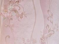 Обои дуплекс Пион 8164-02 нежно-розовый