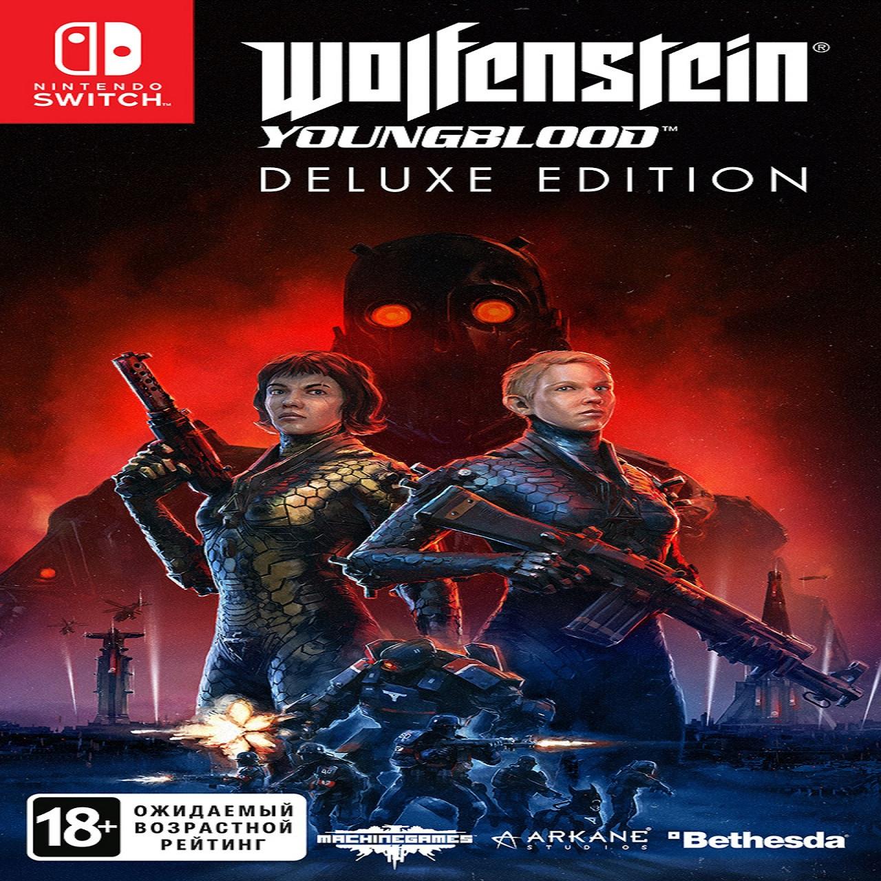 Wolfenstein: Youngblood Deluxe Edition (російська версія) Nintendo Switch