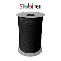 Резинка швейная 8мм (70м/боб) Черный