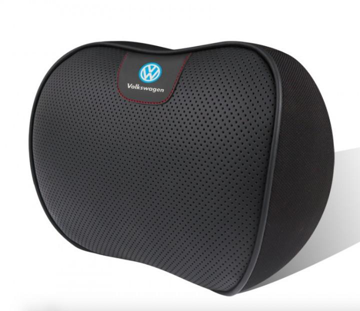 Автомобильная подушка под шею на подголовник ортопедическая для Volkswagen