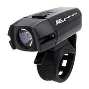 Світло переднє Longus XPG400 LED, 6 ф-цій USB, чорний