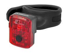 Світло заднє Longus KUBIK 1 LED, 1 ф-ція, USB