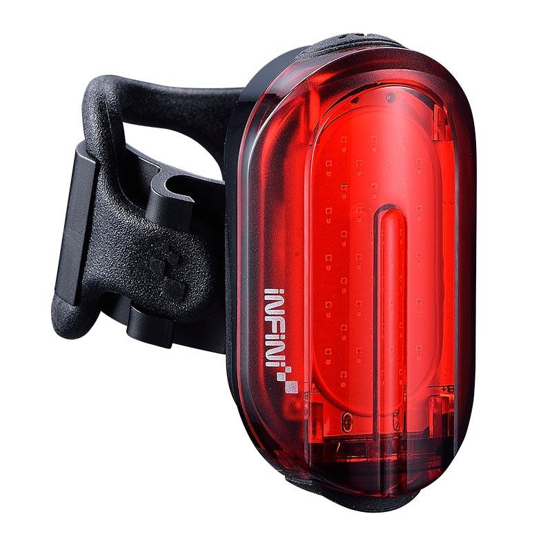 Світло заднє INFINI OLLEY 7 ф-ції чорний USB