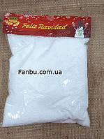 Искусственный снег рассыпчатый декоративный (мелкий пенопласт)