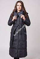 Длинное зимнее пальто- пуховик Snow beauty 2026