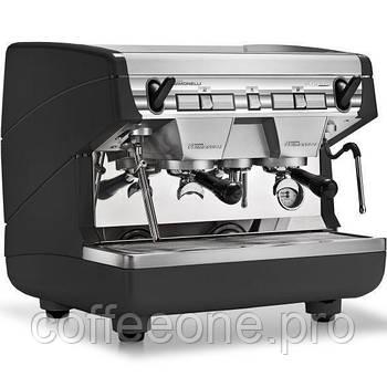 Nuova Simonelli Appia II Compact 2 GR S, Профессиональная кофемашина полуавтомат, высок. гр. 14см, экономайзер