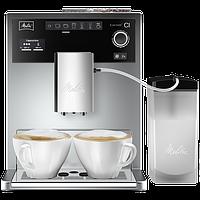 Melitta® Е 970-101 Caffeo® CI® серебристая кофемашина эспрессо полностью автоматическая для дома и офиса