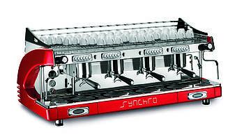 Royal Synchro 4 groups Electronic, P4, Boiler 27Lt, Кофемашина профессиональная автоматическая электронная