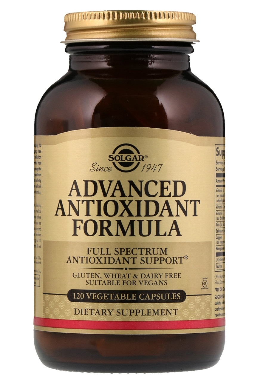 Solgar Advanced Antioxidant Formula 120 veg caps