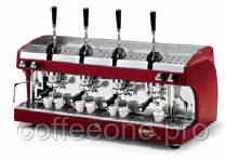 C.M.A. ASTORIA PERLA AL 4 группы, профессиональная леверная эспрессо кофемашина (красная, черная, металлик)