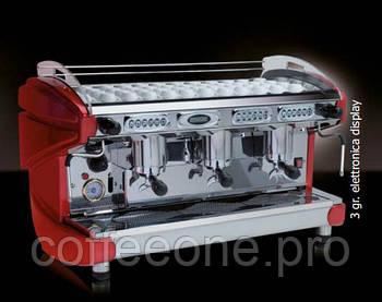 BFC Lira Luxury, 3 groups, 21Lt, Electronic Model, Кофемашина профессиональная автоматическая