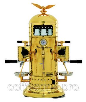 Victoria Arduino Venus bar 2V brass, Кофемашина эспрессо профессиональная, 2 гр, 7.6 л (латунь)