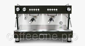 ASCASO Barista T Zero 2 Groups профессиональная кофемашина эспрессо автомат черный и сталь