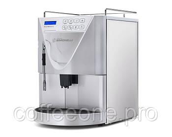Nuova Simoneli Microbar II Cappuccino AD pearl white, Кофемашина суперавтомат c подключением к водопроводу
