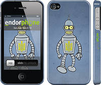 "Чехол на iPhone 4s Бендер. Украина ""1116c-12"""