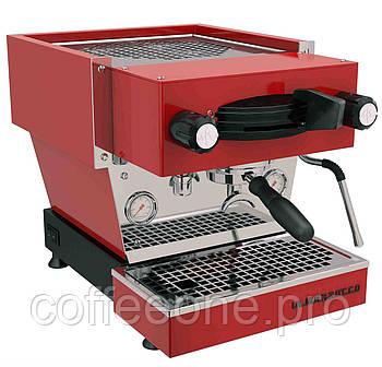 La Marzocco Linea Mini EE 1 group, Профессиональная кофемашина эспрессо полуавтомат для кофейни (красная)