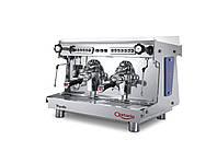 C.M.A. ASTORIA RAPALLO SAE 2 гр., профессиональная эспрессо кофемашина автомат для кофейни (металлик)