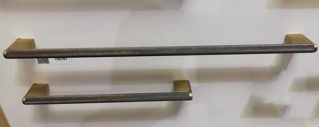 Ручка меблева релінгова Virno Lines 407 бронза