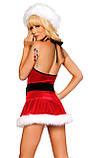 Новорічне плаття снігуроньки, фото 3