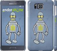 "Чехол на Samsung Galaxy Alpha G850F Бендер. Украина ""1116c-65"""