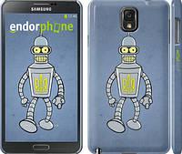 "Чехол на Samsung Galaxy Note 3 N9000 Бендер. Украина ""1116c-29"""