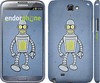 "Чехол на Samsung Galaxy Note 2 N7100 Бендер. Украина ""1116c-17"""