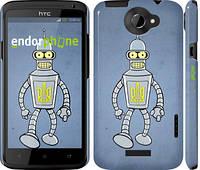 "Чехол на HTC One X+ Бендер. Украина ""1116c-69"""