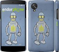 "Чехол на LG Nexus 5 Бендер. Украина ""1116c-57"""