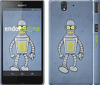 "Чехол на Sony Xperia Z C6602 Бендер. Украина ""1116c-40"""