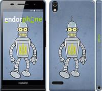 """Чехол на Huawei Ascend P6 Бендер. Украина """"1116c-39"""""""