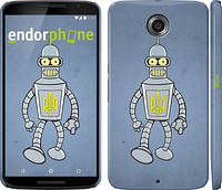 "Чехол на Motorola Nexus 6 Бендер. Украина ""1116c-67"""