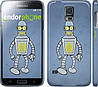 "Чехол на Samsung Galaxy S5 g900h Бендер. Украина ""1116c-24"""