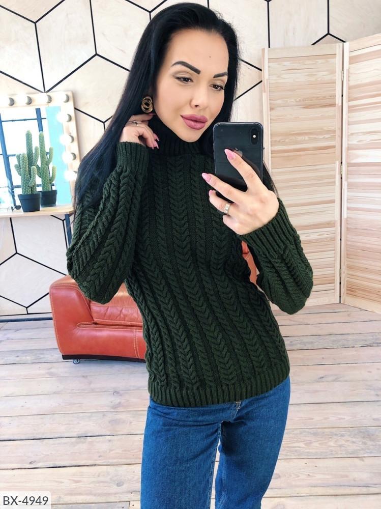 Вязаный свитер свитшот вязка теплый размеры 42-46 Новинка есть цвета