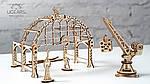 Манипулятор на Рельсах | UGEARS | Механический 3D конструктор из дерева, фото 2