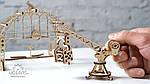 Манипулятор на Рельсах | UGEARS | Механический 3D конструктор из дерева, фото 4