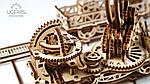 Манипулятор на Рельсах | UGEARS | Механический 3D конструктор из дерева, фото 6