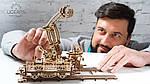 Манипулятор на Рельсах | UGEARS | Механический 3D конструктор из дерева, фото 8
