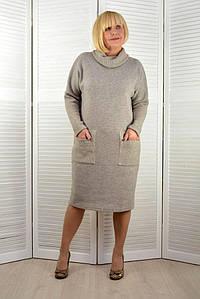 Платье с довязом - Модель 1685-6