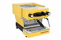 La Marzocco Linea Mini EE 1 group, Профессиональная кофемашина эспрессо для кофейни (желтый корпус)